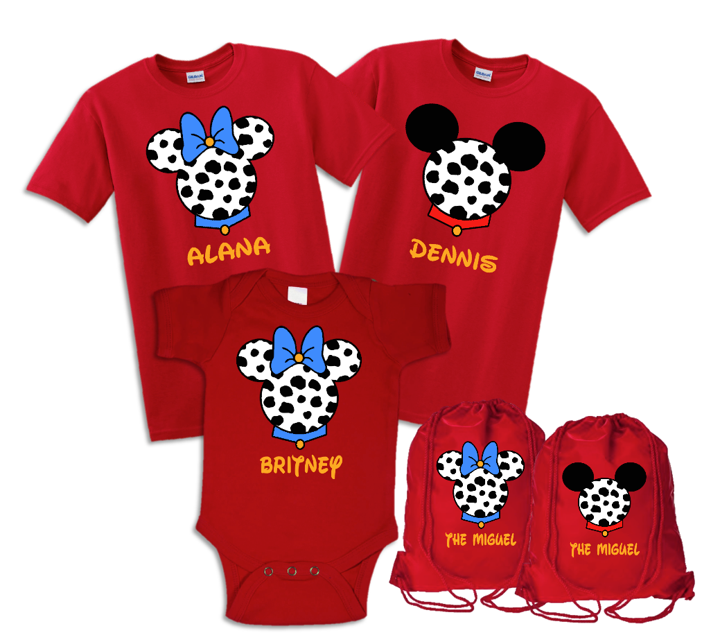 Disney T-shirts 101 Dalmatians Family | The Official Site of Logan ...