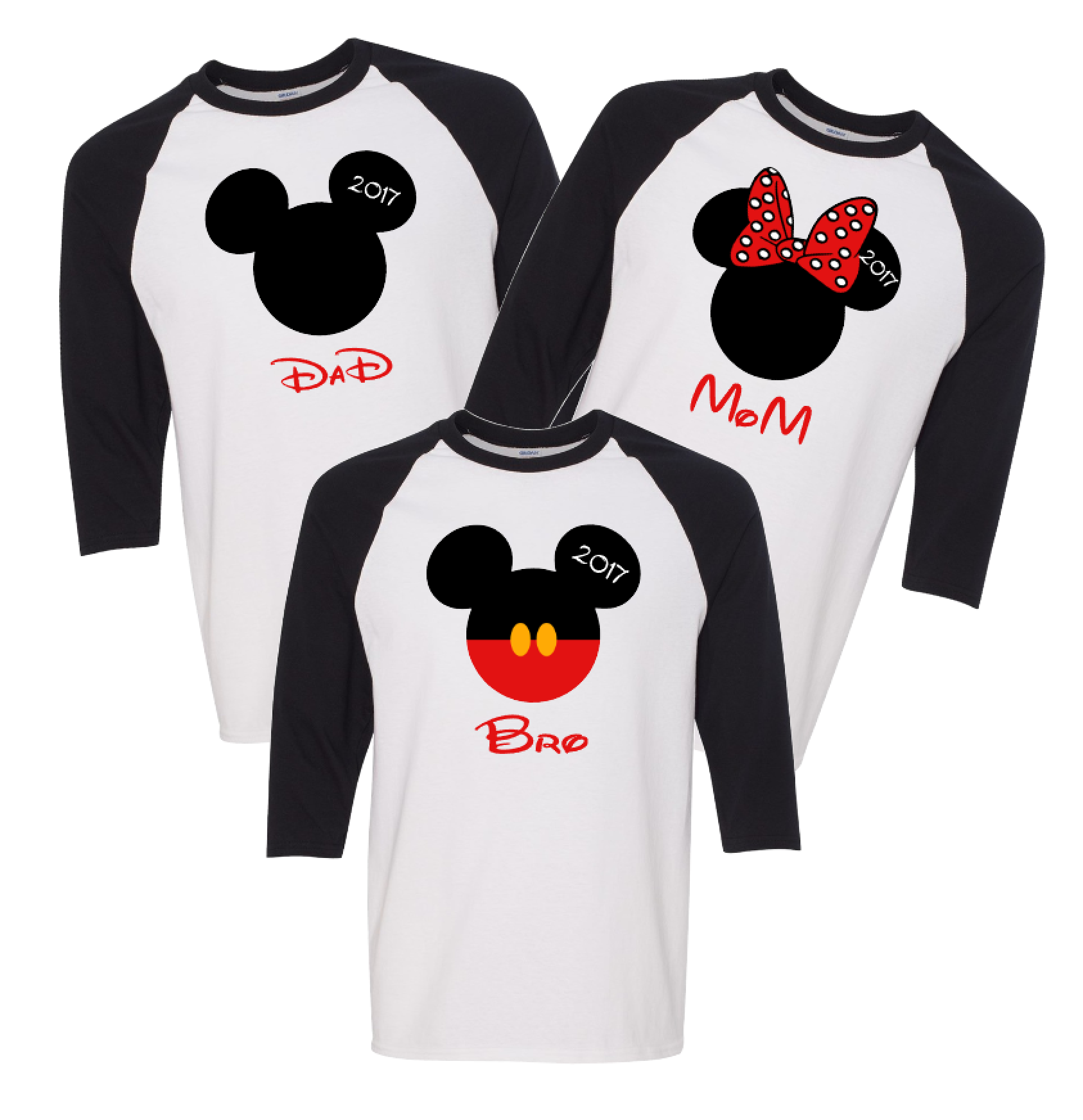 Matching sweaters for couples mickey and minnie for Www custom t shirts