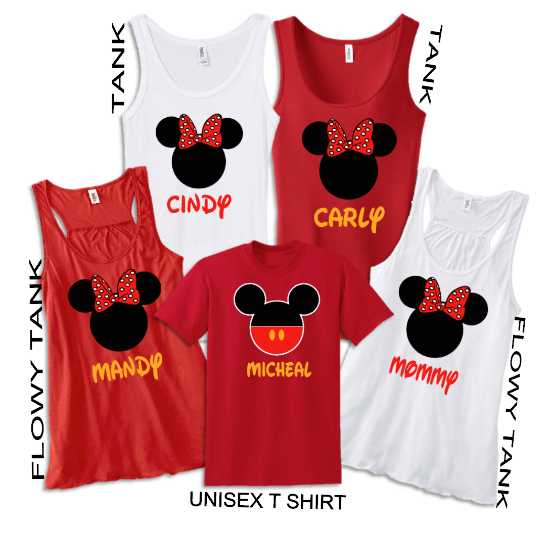 51bc8438 Disney Tank Top Family Vacation T Shirts | The Official Site of Logan To  Layla