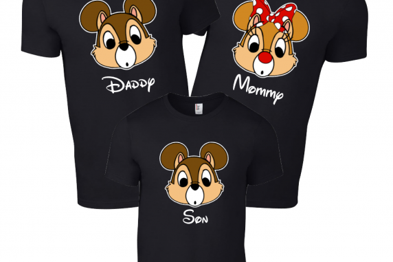 Disney Family Chip and Dale T-Shirts