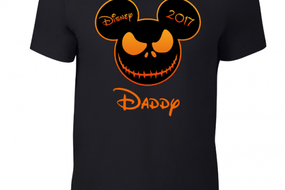 Disney Family Halloween Scary Face Custom T-Shirts