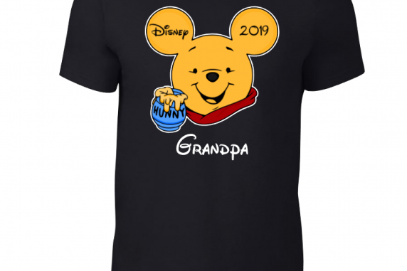 DISNEY WINNIE THE POOH FAMILY MICKEY & MINNIE MOUSE T-SHIRT