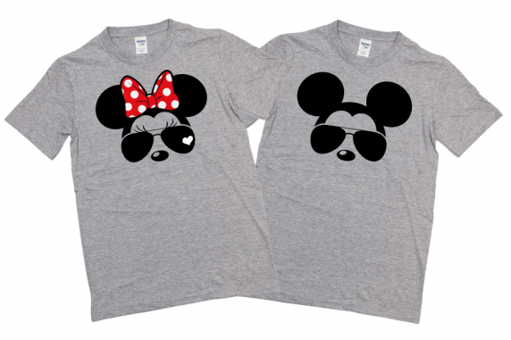 Disney MICKEY MOUSE AND MINNIE MOUSE SUNGLASSES