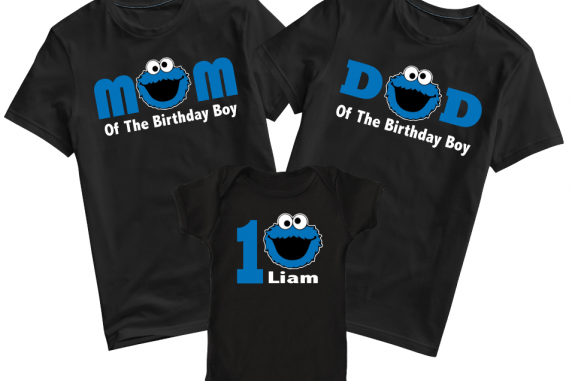 Personalized Cookie Monster Set
