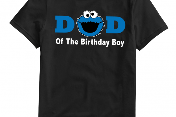Personalized Cookie Monster Dad