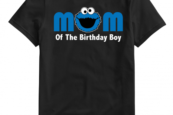 Personalized Cookie Monster Mom