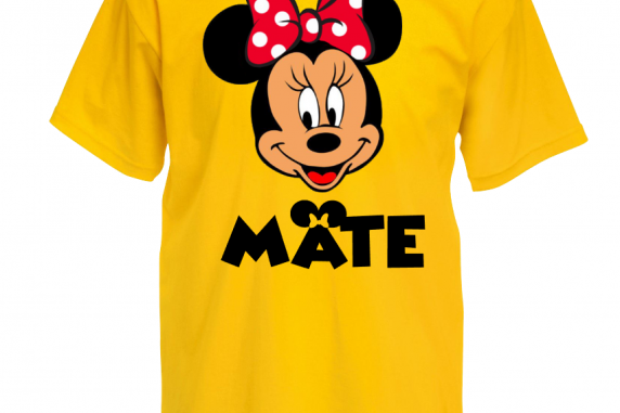 Couples Soul Mate Tshirts Minnie