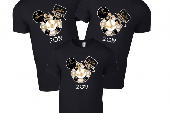 Disney New Years Mickey Mouse