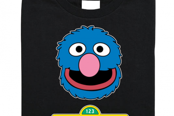 Sesame Street Family Custom T-shirts