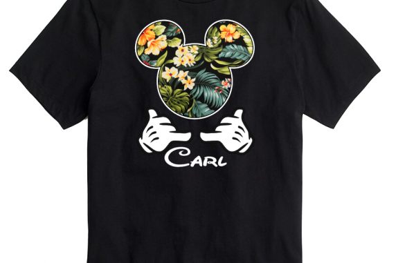 Disney Hawaii Shaka Hands Aulani Family Mickey Mouse and Minnie Mouse T-Shirt