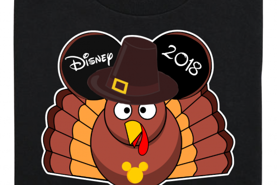 Disney Family Thanksgiving Turkey Mickey Vacation T-Shirts