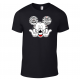 Disney Aulani Hawaii Tiki Family Mickey Mouse and Minnie Mouse T-Shirt