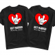 Heart Mickey Tee Disney Valentines Day Shirt