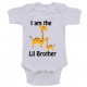 I'm Going to Be A Lil Brother Onesie, Big Brother Tee Shirt