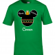 Disney Christmas Family Ornament Mickey Head Custom T-Shirts - Kelly Green