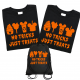 Disney Family No Tricks No Treat T-Shirts - Black