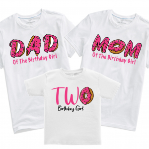 Donut Shirt Matching Family Birthday T-Shirts