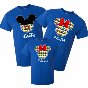 Disney Family Autism Mickey and Minnie Vacation T-Shirts-Puzzle