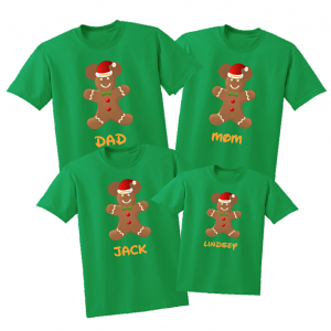 Disney Family Gingerbread Man Vacation T-Shirts