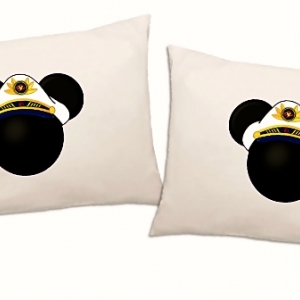 Disney Cruise Captain Pillow Case Set