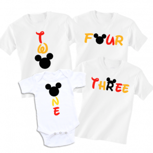 Disney Birthday Shirt Family Vacation Family T-shirts