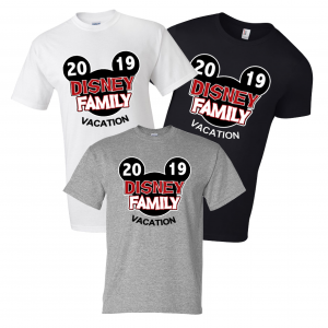 Disney Family Vacation T-shirts