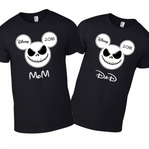 Disney Jack Skellington Face Family