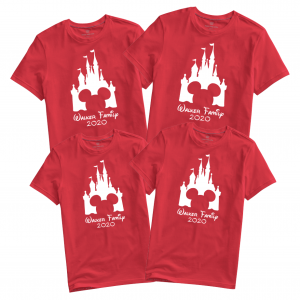 Disney Castle Family Vacation T-shirts 2020