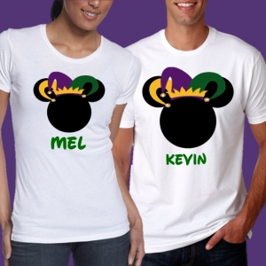 Disney Mickey Mardi Gras Family T-Shirts