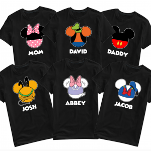 Disney Matching Mickey and Friends Family T-Shirts