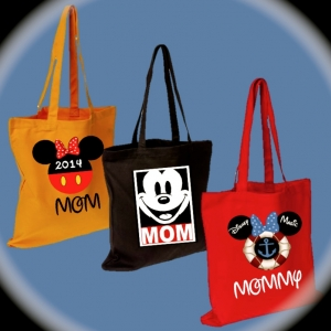 Disney Personalized Tote Bags
