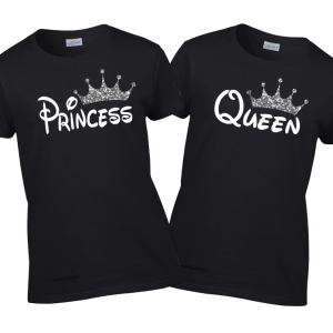 Disney King Queen, Prince & Princess Shirt Family Vacation T-shirts