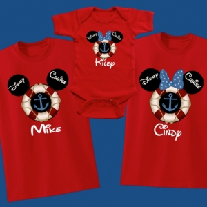 Disney Magical Cruise Family Vacation T-Shirts