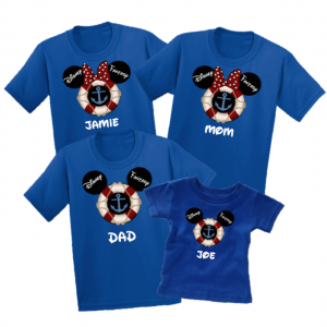 Disney Family Cruise Vacation T-Shirts