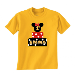 Minnie Mouse Birthday Cake Shirt