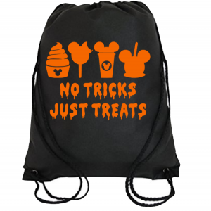 Disney Family No Tricks No Treat T-Shirts - Bag