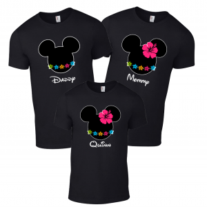 Disney Aulani Hawaii Family Mickey Mouse and Minnie Mouse T-Shirt