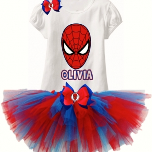 Spiderman Tutu Set