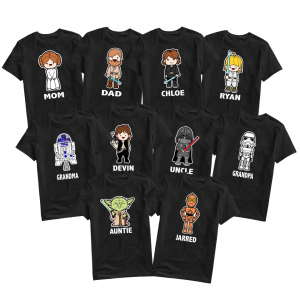 Star Wars Custom T-shirts