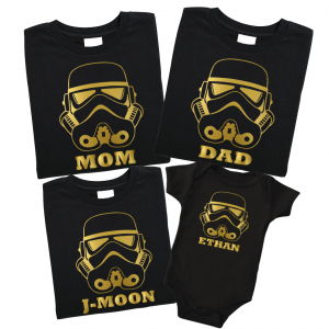 Star Wars inspired custom family shirts