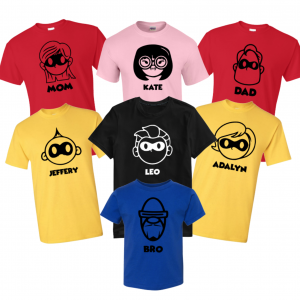 The Incredibles CHARACTERST Shirt