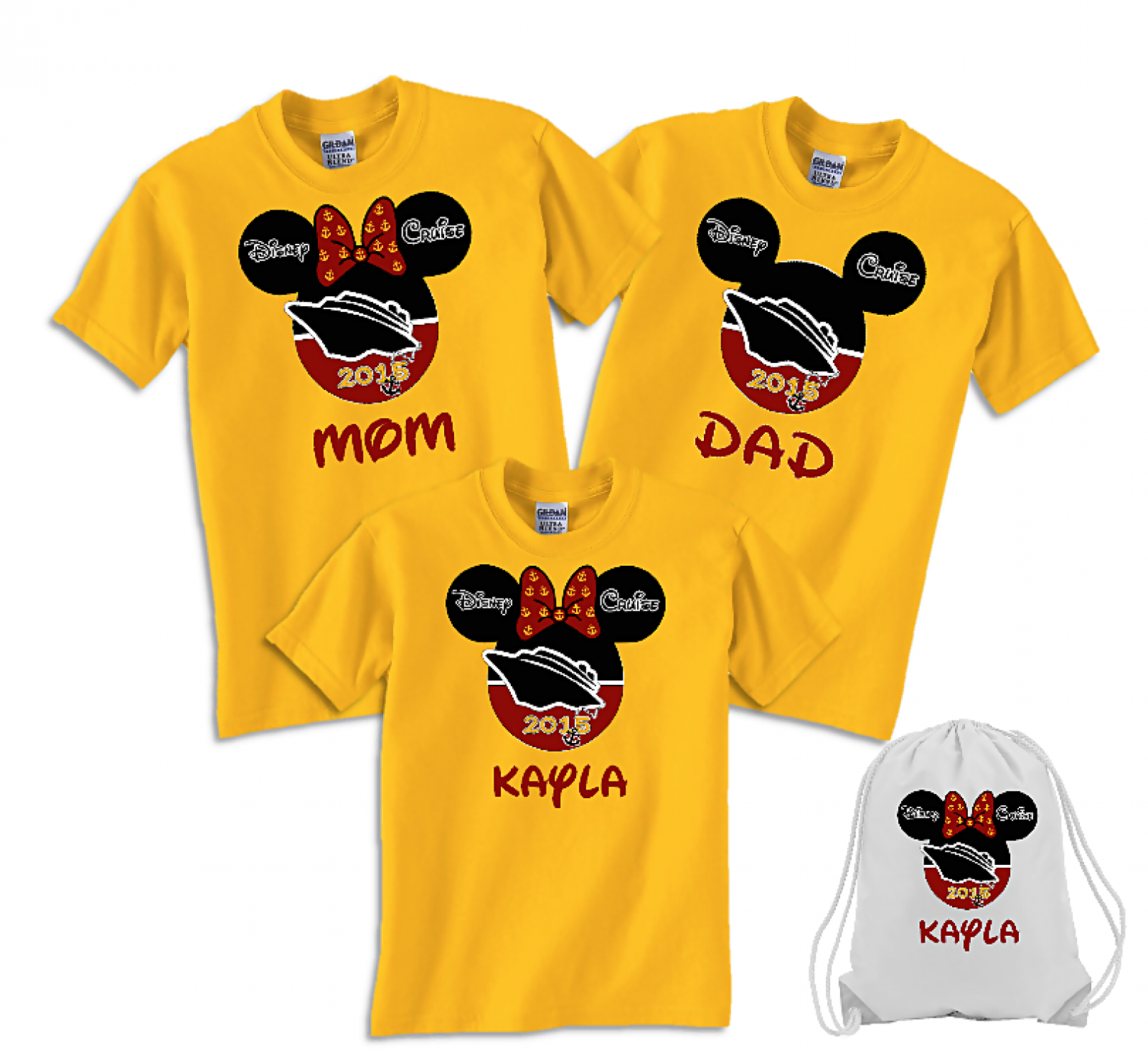085fe143 Disney Family Cruise Ship Vacation T-Shirts   The Official Site of Logan To  Layla