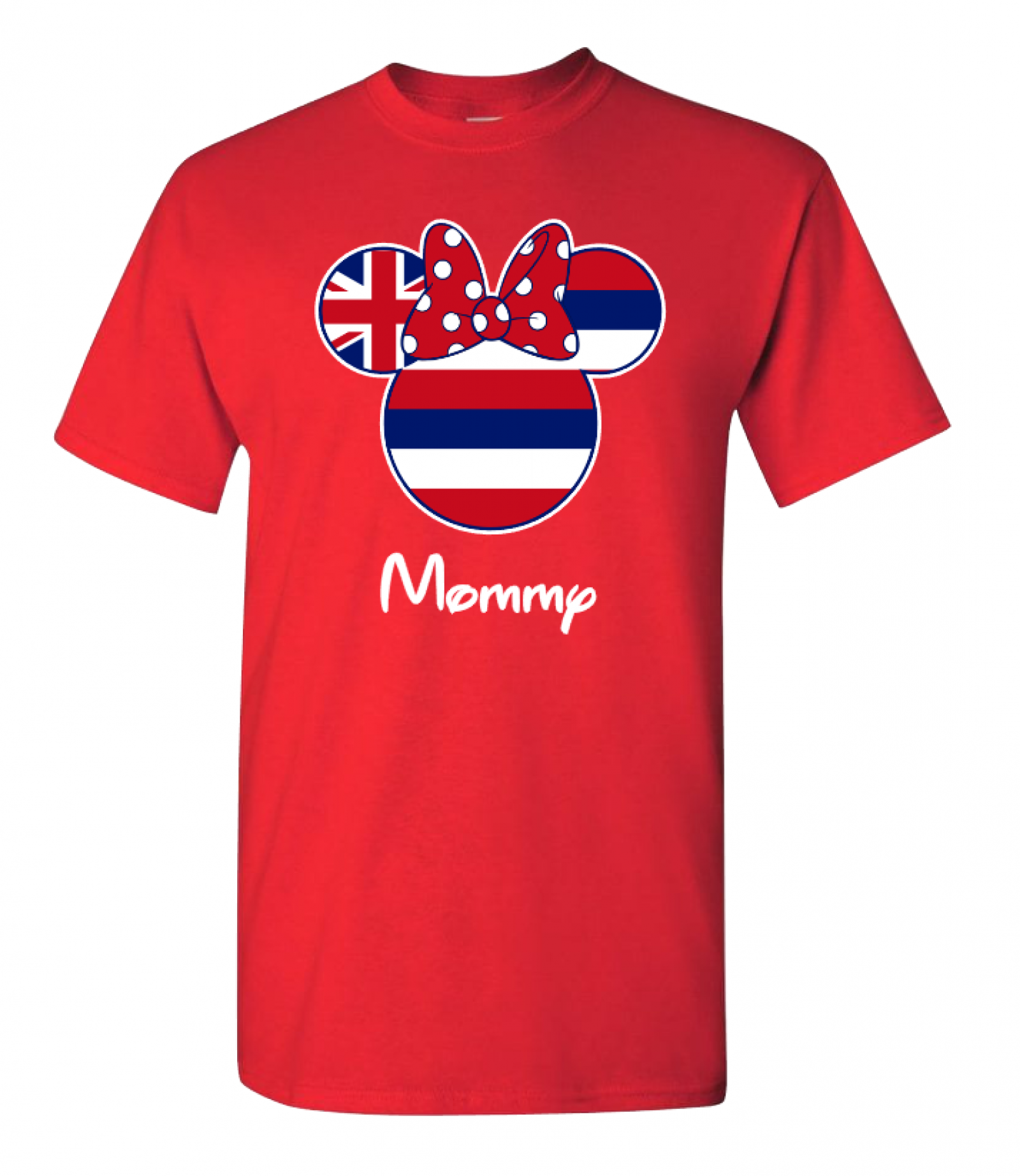 ccc71c1f639fbd Disney Hawaii American Flag Family Mickey Mouse and Minnie Mouse T-Shirt