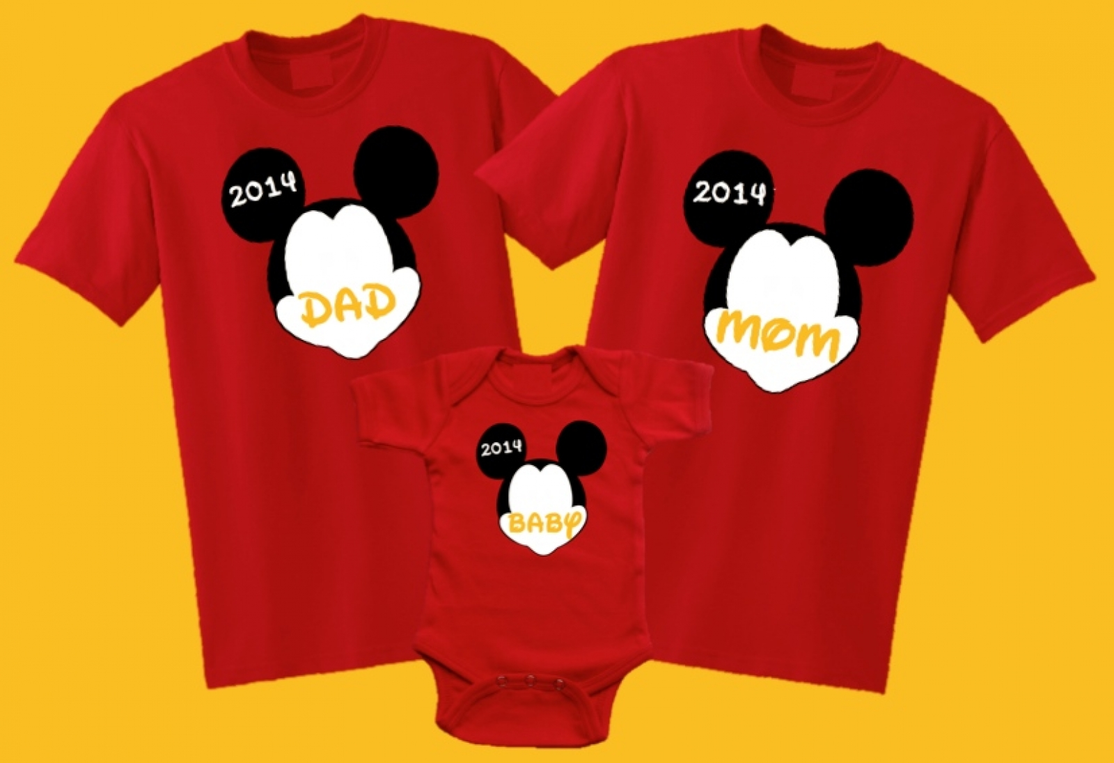 Customized Minnie Mouse Birthday Shirts