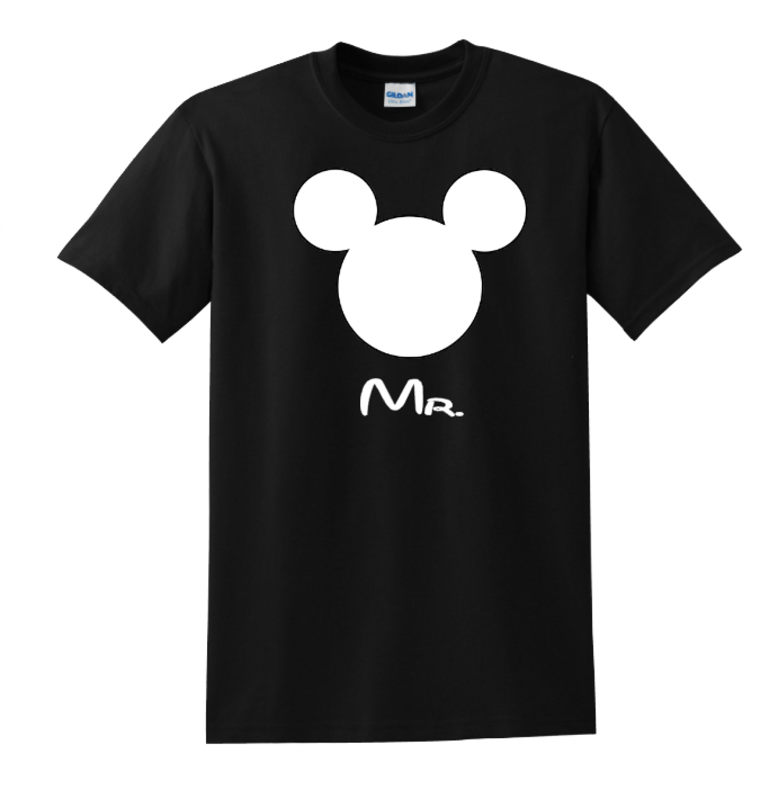 Disney Family Mr Mrs Custom T Shirts Black The