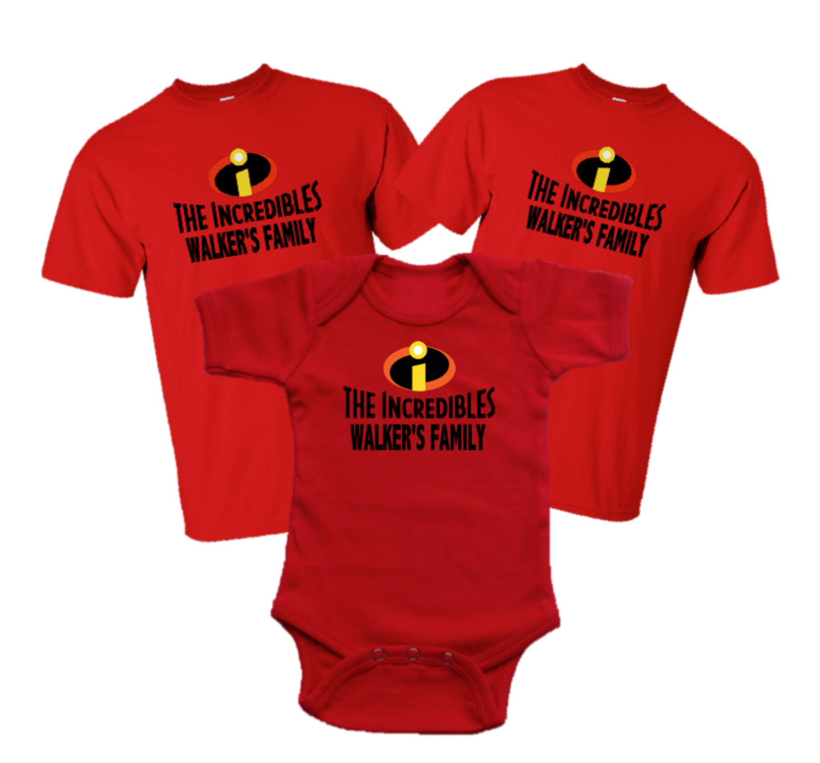 4a11eed7d Disney Family Incredibles Vacation Family T-shirts | The Official ...