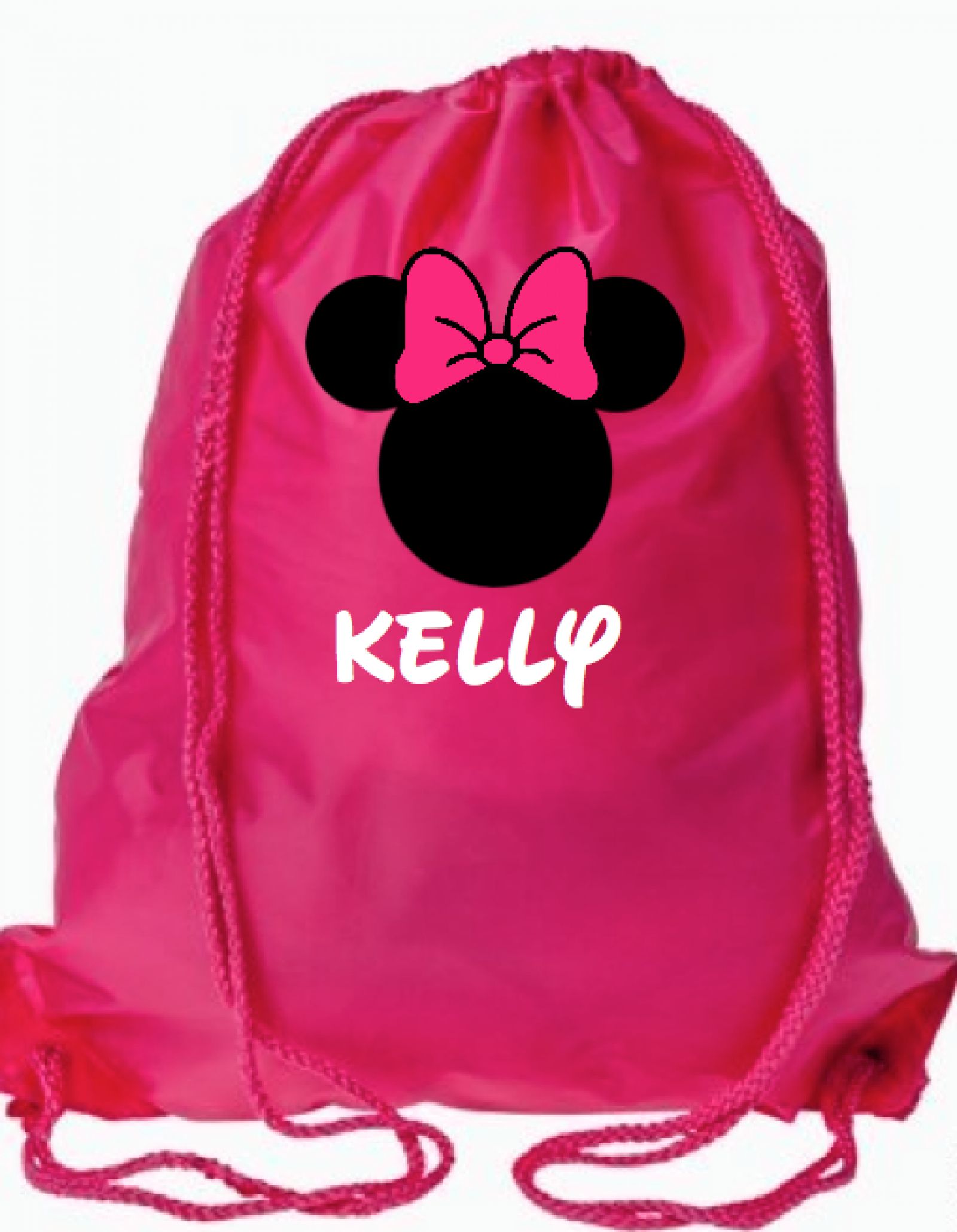 Disney Personalized Drawstring Bags