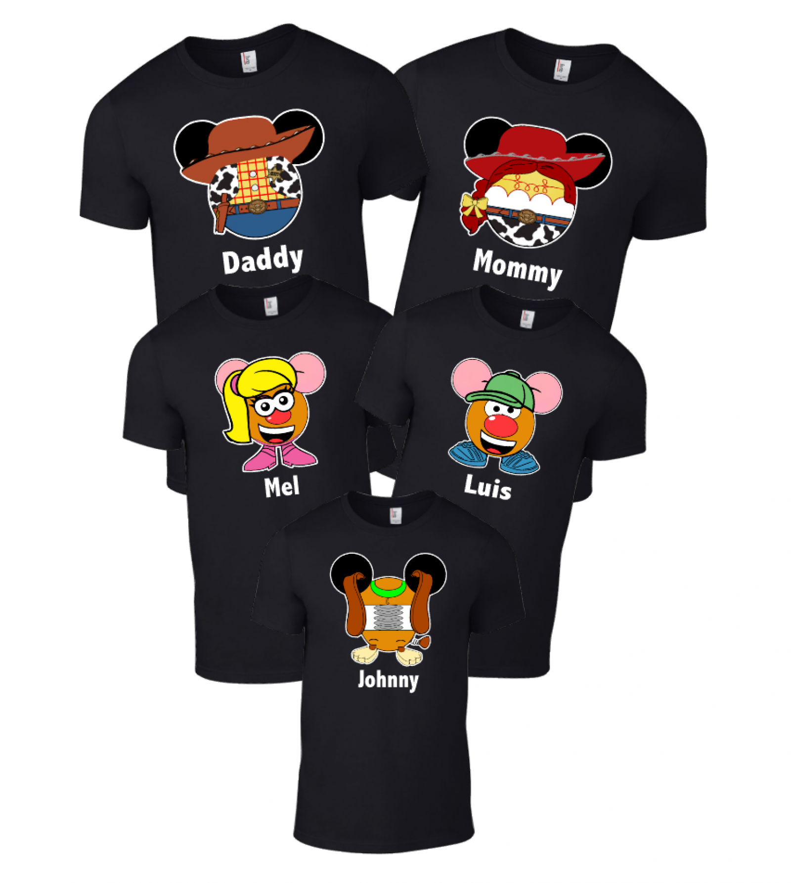Disney Matching Toy Story Family T-Shirts | The Official ...