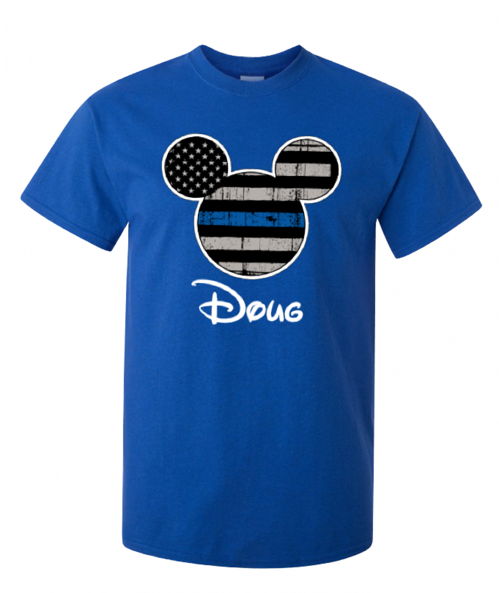 6f2242d5c30705 ... Disney Thin Blue Line Family Minnie Mouse Flowy Tops and Tank Top Black  Gray ...