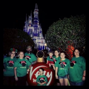 Disney Christmas Family